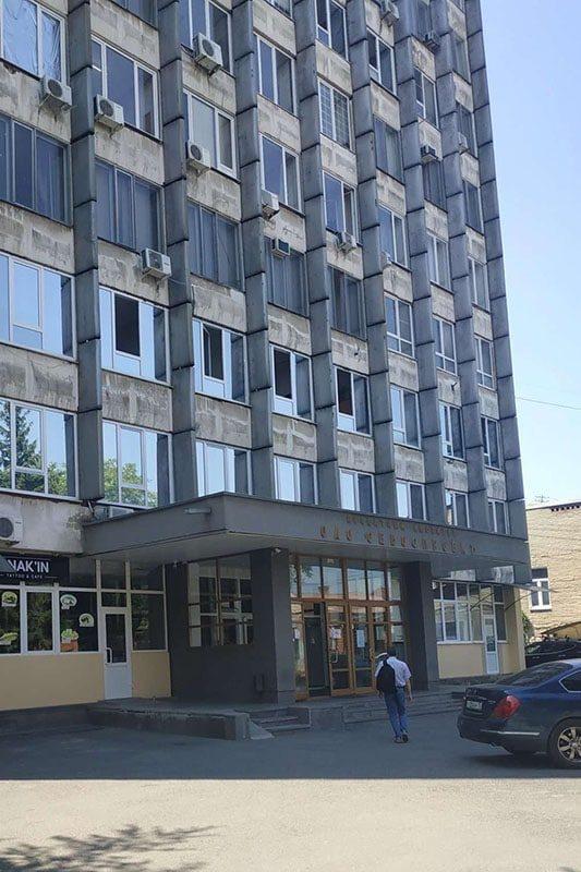Офисное здание, в котором расположен филиал школы трейдинга проп-компании LIVE Investing group